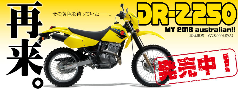 DR-Z2502018incoming!
